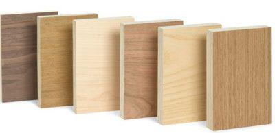 Derivados de la madera