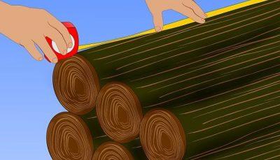 Medidor comerciales de la madera