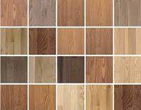 Tipos de madera dura