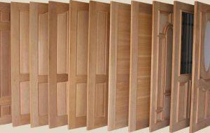 Tipos de puertas de madera
