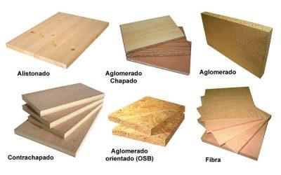 Tipos de tablas de madera