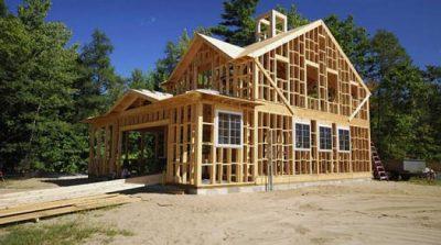 Usos de la madera en construcción