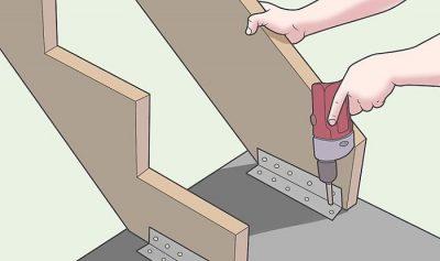 construccion de escaleras de madera