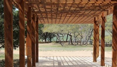 Pergola de jardin madera