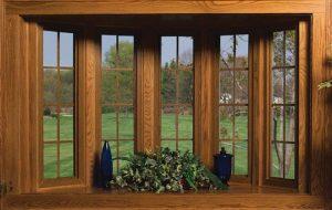 usar ventanas de madera